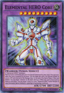 Elemental Hero Core Super Rare Shining Victories -- Yugioh Card