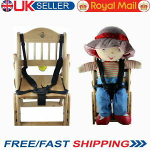 5 Point Car Belt Safe Strap Stroller Harness Pram Buggy High Chair Children Baby