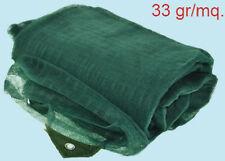 Rete reti telo teli raccolta olive antispina mt 8 x 8 occhiellato con apertura