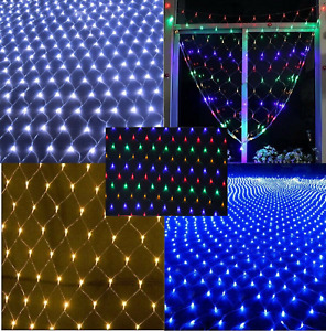 180 LED Christmas Decorations Net Lights 8 Modes Indoor Outdoor 1.8m x 1.2m