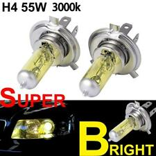 H4 Xenon Yellow Halogen 55w Hid Amber Headlight Lamps Fog Light Bulbs 12v
