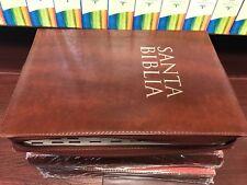 Biblia Letra Super Giagante Con Cierre Indice Reina 1960 17 puntos semi piel