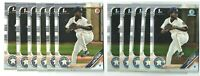 2019 CRISTIAN JAVIER 1st Bowman Chrome Paper BCP-32 11-CARD Rookie LOT  ASTROS