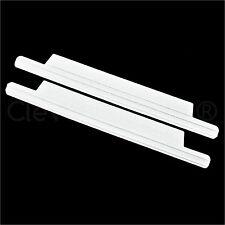 "100 Pack - 5.5"" White Tin Ties - 4"" Adhesive Length - Peel and Stick Bag Sealing"