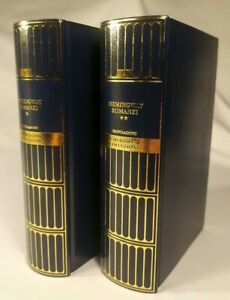 I MERIDIANI - Ernest Hemingway ROMANZI 2 Voll, - MONDADORI 2005
