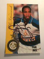 Autogramm PAUL INCE-Inter Mailand-NS ENGLAND-Milano-Ex-Liverpool/ManUnited-AK