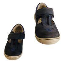 BNIB Clarks Boys Juggle Zap Blue Canvas First Boots F//G Fitting
