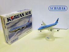 SCHABAK Flugzeugmodell Boeing 747-400 Flugzeug Modell Metall Modellflugzeug NEU