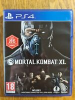 MORTAL  KOMBAT  XL ( SONY  PLAYSTATION 4 )  MINT  CONDITION  LIKE  NEW.