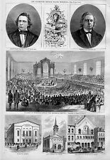 HENRY WARD BEECHER AND THE PLYMOUTH CHURCH SILVER WEDDING HISTORICAL MEETING