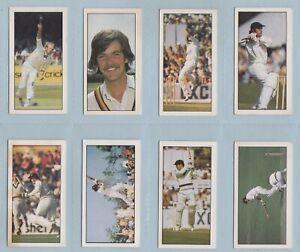Trade Cards - Cricket, First Series (Geo. Bassett & Co. Ltd) - 8 Cards