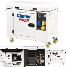 Clarke DG6000DVES 5kVA Diesel Generator 8675000