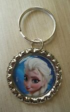 ELSA Disney's FROZEN, Bottle Cap on Key Ring