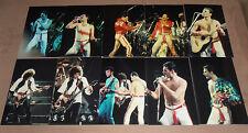 10 -  4x6 inch original photos  QUEEN FREDDIE MERCURY      1982 NYC
