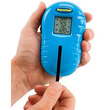 Aquachek aquacheck prueba dispositivo Aqua Check Test de agua con 75 tiras de prueba top!!