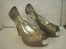 Guess New Womens Hondo 3 Open Toe Heels 10 M Pumps Shoes