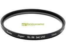 72mm. filtro UV SL 39 (MC UV) Kenko Super