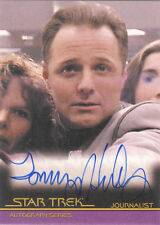 """Quotable Star Trek Movies - A89 Tommy Hinkley as """"Journalist"""" Auto/Autograph"""
