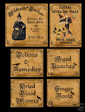 Halloween Sticker Sheet ~ Original Designs    Sheet #56