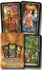 Easy Tarot Gilded Tarot NEW Sealed Set 78 Cards Book C Marchetti Art J Ellershaw