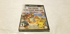 "Super Smash Bros. Melee New! Sealed Nintendo GameCube ""Not For Resale"" Black"