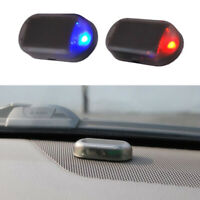 1x Solar Power Car Dummy Alarm Warning Stimulate Anti-Theft Flashing LED Light