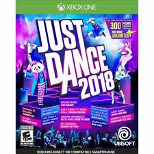 Just Dance 2018 for XBOX One S X - NEW SEALED