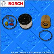 KIT Di Servizio Per PEUGEOT 307 2.0 HDI 16V FILTRI OLIO COMBUSTIBILE manuale (2004-2007)