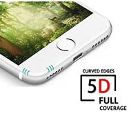 5D Full Tempered Glass Screen Protector For Apple iPhone 6 Plus , 6s Plus WHITE