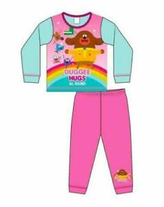 Girls Hey Duggee Long Pyjamas - Age 18 Months to 5 Yrs - Free 1st Class Postage