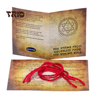 3 pcs Set Consecrated Authentic Red String Kabbalah Bracelet from Rachel's Tomb