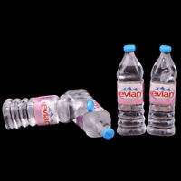 1:12 4Pcs dollhouse water bottle miniature toy doll food kitchen parts Fy