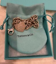 Tiffany & Co silver heart Toggle bracelet