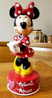 Disnisney Minnie Mouse Collectible Plastic Coin Bank 11.""
