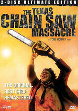 The Texas Chainsaw Massacre (DVD, 2006, 2-Disc Set, Ultimate Edition) STEELBOOK
