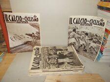 IL CALCIO E IL CICLISMO ILLUSTRATO 1960 31-32-33-34-35-36-37-38-39 A 5 EURO CAD