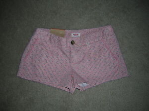 Mossimo Shorts Women's Size 1 Coral NEW/NWT