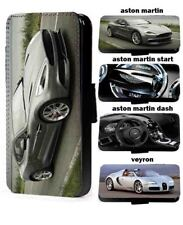 Luxury Cars phone case Inspired leather wallet phone cover iPhone Samsung Huawei