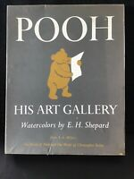 POOH A.A.Miln HIS ART GALLERY -1957- 8 WATERCOLOR ART BY ERNEST H. SHEPARD