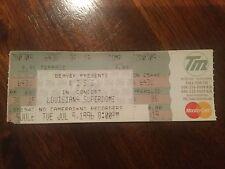 Kiss 9th July 1996 Louisiana Superdome Full Ticket Reunion Tour