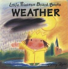Weather: Little Princess Board Books-ExLibrary
