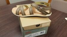 Womens Spenco Total Support Andi Sandals Smoke Size 6