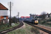 PHOTO  CLASS 47 LOCO AT  ENBORNE 1970'S