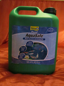 TETRA 101.4oz Tap Water Conditioner Chlorine Remover Safe Koi Fish Pond Aquarium