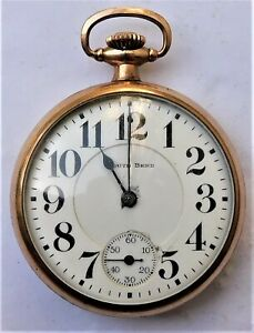 NO RESERVE c1890 South Bend Pocket Watch Vintage Antique