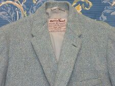 Authentic 1940s Harris Tweed canotaje Blazer Traje Chaqueta: CC41 demob era 38 De Colección