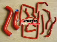 RED For Subaru Impreza WRX/STi GDA/GDB EJ207 2002-2007 Silicone Radiator Hose 06