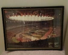 Vintage Montreal 1976 Olympic Games Opening Ceremony picture frame