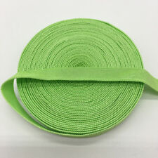 """5yds 3/8"""" Green Fold Over Multirole Elastic Spandex Band DIY Lace Sewing Trim"""