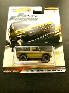 HOT WHEELS CAR CULTURE FAST & FURIOUS MERCEDES-BENZ G-CLASS.